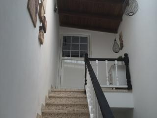 One flight of stairs from main private entrance leading to Penthouse entrance.