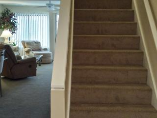 new carpet on both floors.