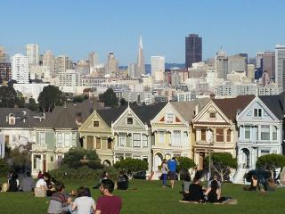 Stay in the Famous Painted Ladies!, San Francisco