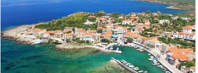 Agios Nikolaos from above.