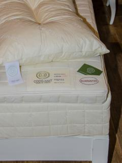 Coco mat mattresses and upper mattresses to all rooms.