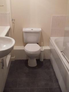 Bathroom with Bath & shower facilities