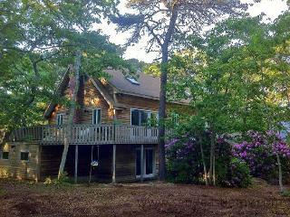 Vineyard Style House in Quiet WOods, Near Beaches & Downtown, Edgartown