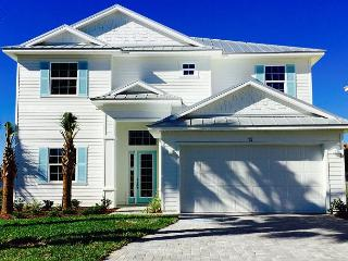 HGTV Beach Home! Sunset Key In Cinnamon Beach! 5 Bedroom Suites/Private Pool!