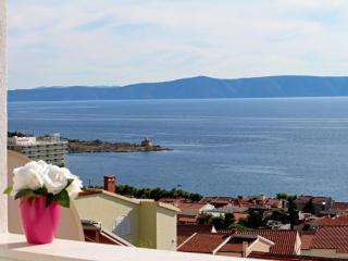 Brand new studio -sea view terrace!, Makarska