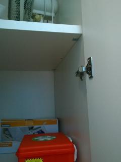 kit primo soccorso nella cabina armadio
