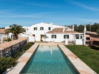 Intimidad y tranquilidad en el campo de Menorca