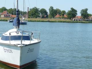 Zeilboot Aan Het IJsselmeer, Enkhuizen