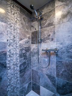 Brand new marble shower room! Jan 2016