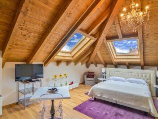 Bright and charming attic w/garden
