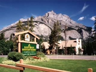 Great Mountain Resort In Banff : Two Bedroom Condo