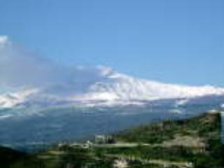 Mt Etna view from the apartrment