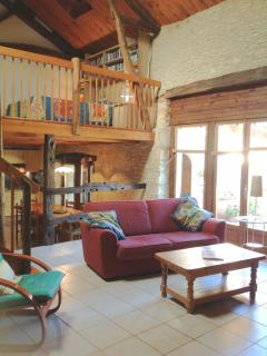 The Barn interior