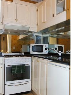 Full equiped kitchen for 2 guest