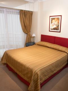 Resting area, with double bed or 2 twin