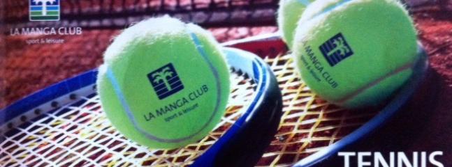 La Manga Club Championship Tennis Centre, home of the England Tennis team. 28 tennis courts.