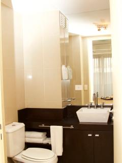 Fully equiped bathroom