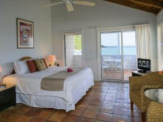 Oceanfront Studio, Perfect Location, Cruz Bay