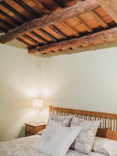 Dormitorio 5. Masía El Munt (Castellterçol, Barcelona).