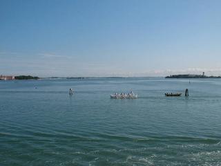 Wonderful view over Venetian Lagoon, City of Venice