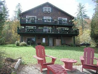 Lake front home, Paradox Lake 120 foot sandy beech, Schroon Lake
