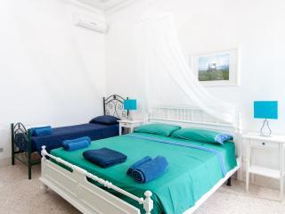 Camera da letto con veranda