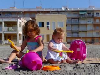 Apartamento sobre la arena en Playa Lisa., Santa Pola