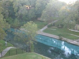 Inverness 216, FABULOUS  2/1 condo right on the Comal River!, New Braunfels