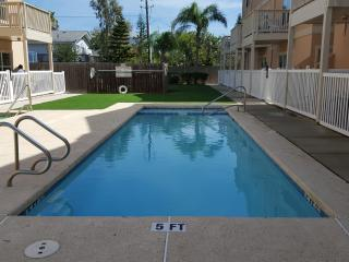 The pool, the other section is 3ft to 5ft
