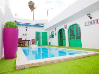 Encantadora casita con piscina climatizada, Telde