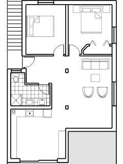 Floor Plans of Apartment Nada