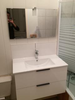 wc, lavabo et baignoire