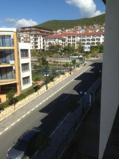 Blick aus Balkon