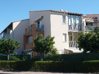 Awesome apartment in Cap d'Agde w/ 2 Bedrooms, Internet and WiFi