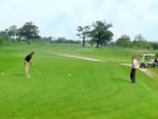 Chirk Golf club - 10 mins away in the car.