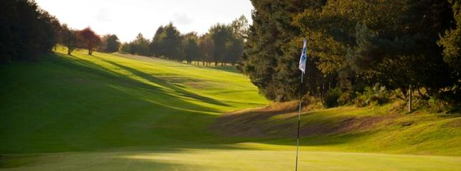 Wrexham Golf club - 20 mins away in the car.
