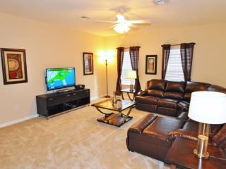 Spacious 5-Bed Pool Hm w Conservation Views/Spa/Game Room/WiFi/Resort Pool/Gated