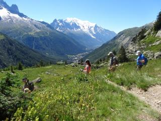 Summer Hiking in the Meribel Valley - over 200kms of marked trails