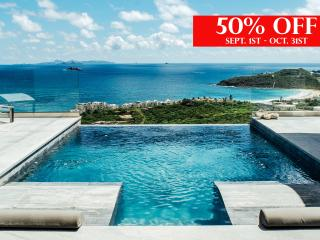 Sept 1st- Oct 31st the Crystal Villa will be available for 50% off.  Some conditions apply.