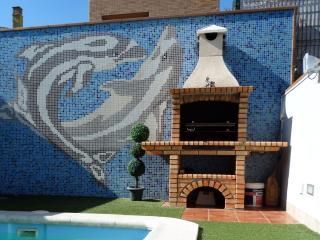 Bonita casa adosada con piscina y jardín Meneses, Llagostera