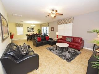Family-Friendly Home near Disney w/ WiFi, Pool, LCDTV, Resort Golf, Pool, Tennis