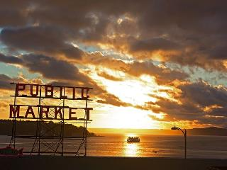 Trek downtown to stroll through the famous Pike Place Market!
