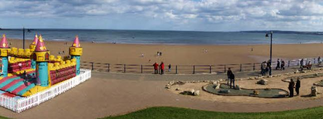 Filey foreshore