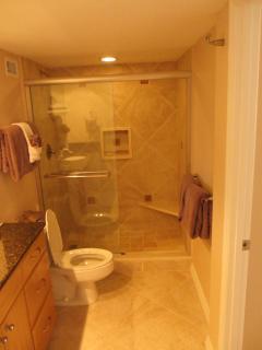 Ensure Shower in Second Bedroom