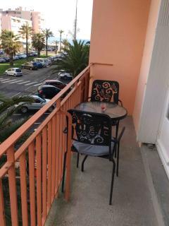 balcon et vue mer