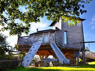 Cabane gîte perchée tout confort, Lampaul-Plouarzel