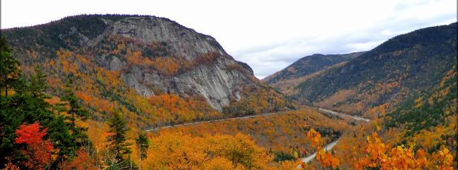 Crawford Notch in Fall