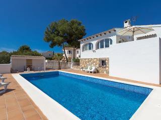 Villa Milou en Benissa,Alicante para 6 huespedes