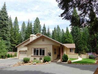 Sands - West Shore Home with Waterfall & Pond, Lake Almanor Peninsula