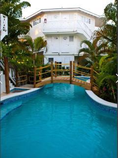 1 bedroom villa balcony & Private poolspa (RonV)